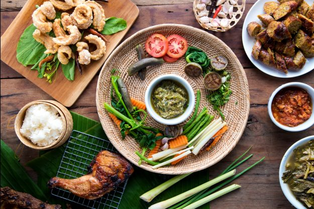Thai-Kochkurs Dresden – buntes Thai-Food in Restaurant