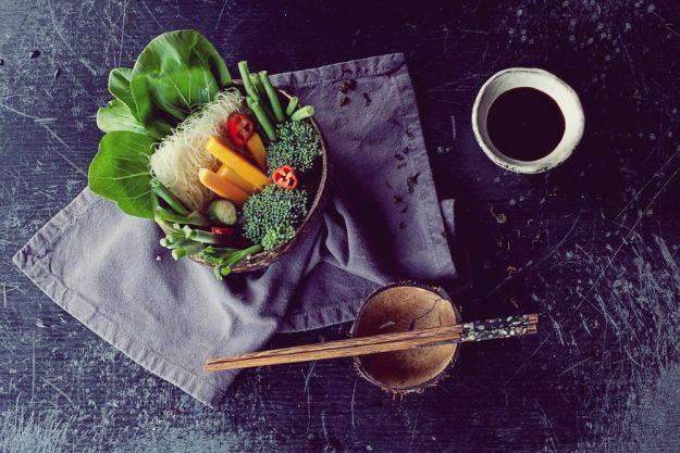 Thai-Kochkurs Hamburg – Thai-Zutaten Schale