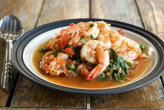 Thai-Kochkurs Köln – Thai Food Shrimps