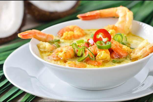 Thai-Kochkurs München – Garnelen-Curry