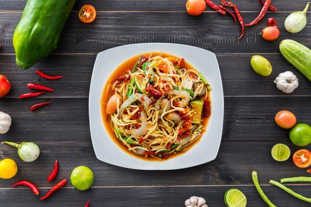 Thai-Kochkurs Wuppertal – Papaya Salat