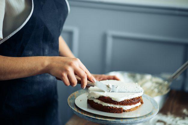 Tortenkurs Münster – mit Sahne eindecken