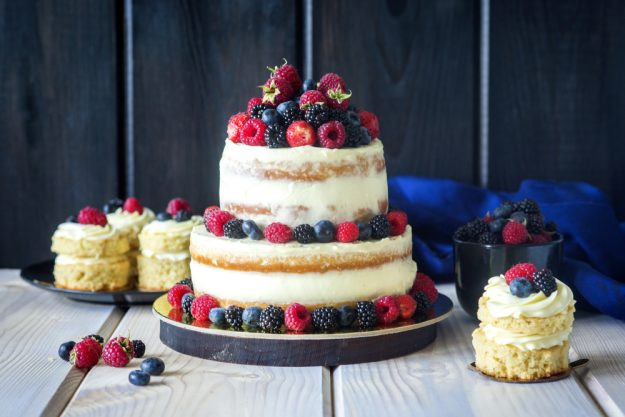 Tortenkurs Münster – Naked Cake