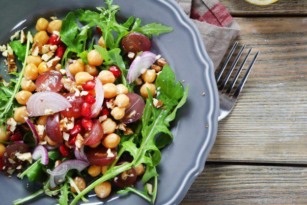 Veganer Kochkurs Frankfurt – Kichererbsen Salat
