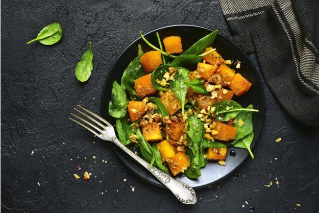Veganer Kochkurs Heidelberg – Kürbis und Spinat