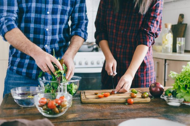Veganer Kochkurs Stuttgart - zusammen kochen