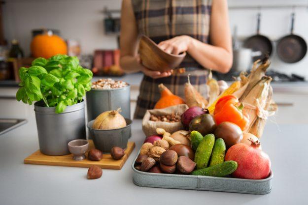 Vegetarischer Kochkurs Dresden – Gemüse auf dem Tisch