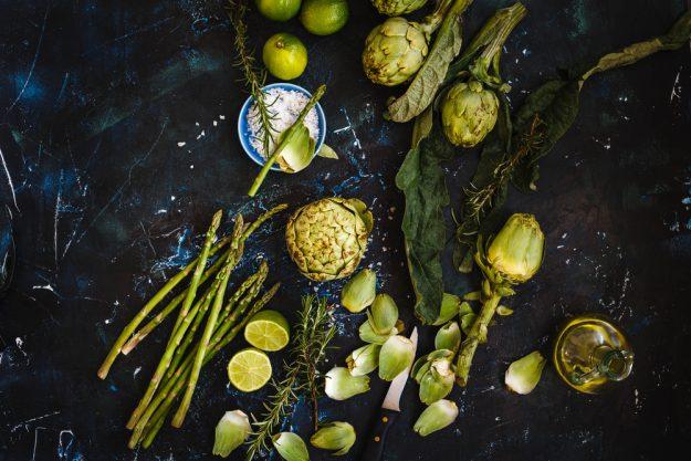 Vegetarischer Kochkurs Dresden – grünes Gemüse
