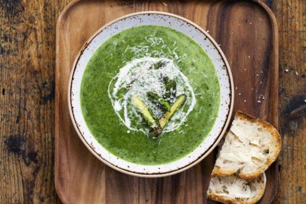 Die Welt auf vegetarisch –Suppe
