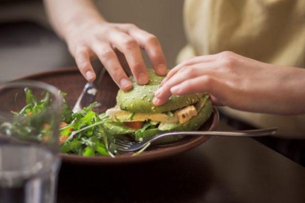 Die Welt auf vegetarisch –Vegetarischer Burger