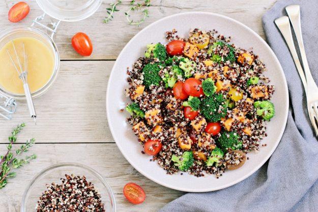 Veganer Kochkurs Frankfurt – Quinoa mit Gemüse