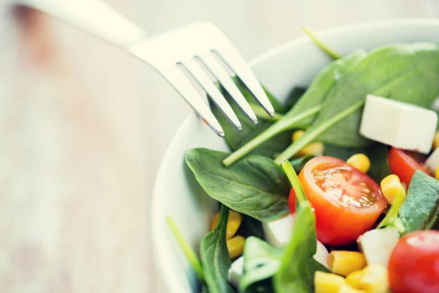 Veganer Kochkurs Frankfurt – bunter Salat