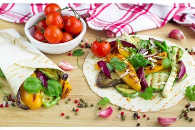 Veganer Kochkurs Frankfurt – Wraps mit Gemüse