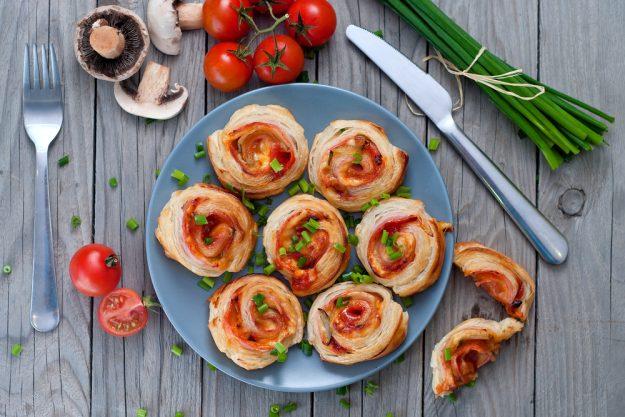Vegetarischer Kochkurs Stuttgart – Pizza-Brötchen mit Kräutern