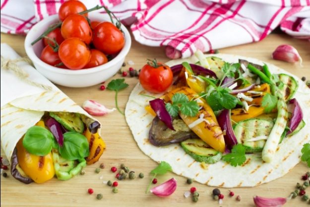 Vegetarischer Kochkurs Stuttgart – Wraps