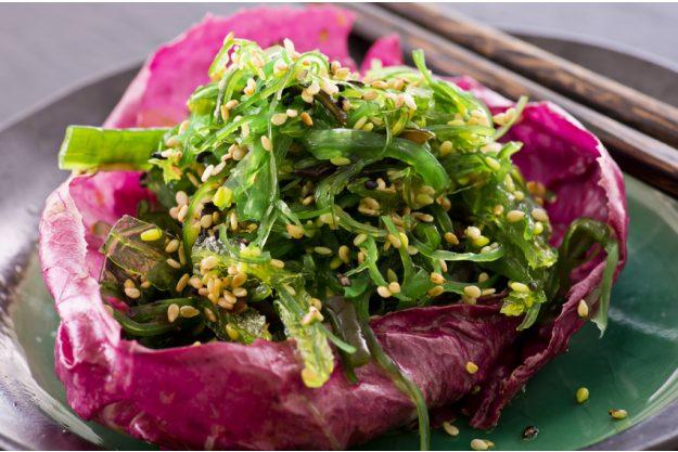 Vietnamesischer Kochkurs Köln - Algensalat