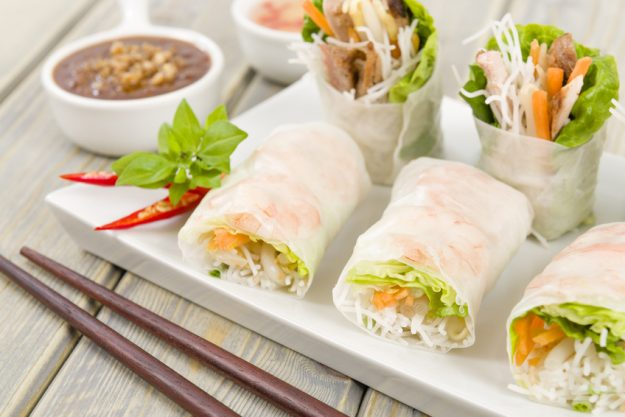 Vietnamnesischer Kochkurs in Fürth – Reispapierrollen