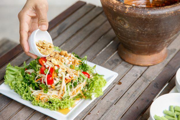Vietnamesischer Kochkurs München - Papayasalat
