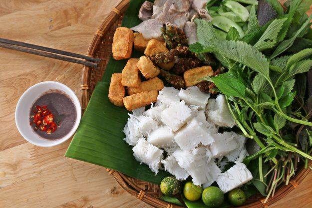 Vietnamesischer Kochkurs München - Tofu und gepresste Nudeln
