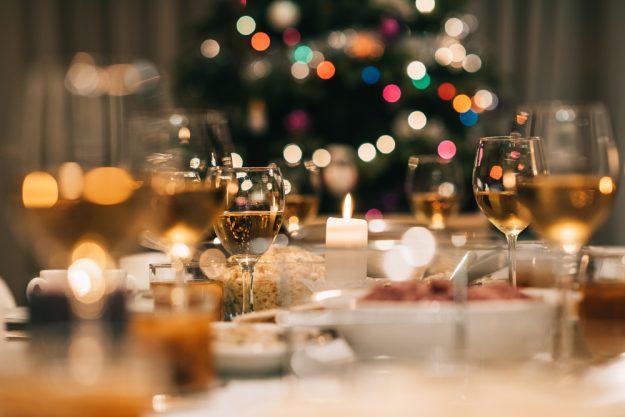 Weihnachts-Kochkurs Hamburg – gedeckte Tafel