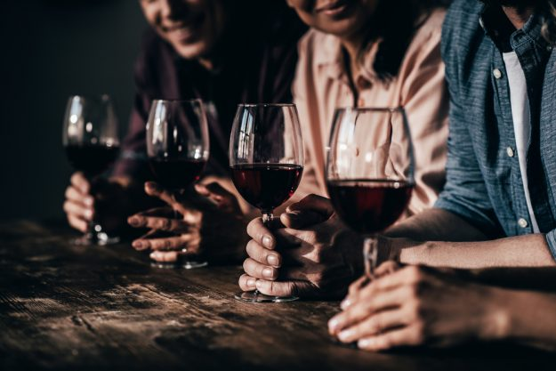 Weinprobe Stuttgart – viermal Rotwein