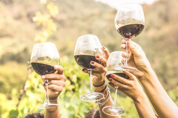Weinprobe Stuttgart –Wein draußen