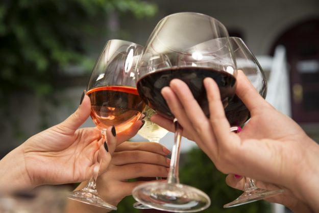 Weinseminar Berlin – mit Rotwein anstossen