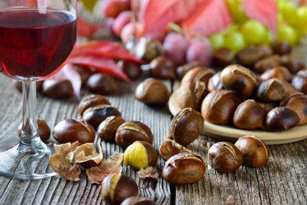 Weinseminar Berlin – Rotwein und Maronen