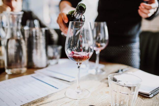 Weinseminar Hamburg - französischer Rotwein