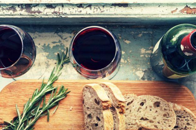 Weinseminar Hamburg - Rotwein und Brot