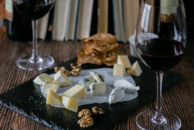 Weinseminar Hamburg - Rotwein und Käse
