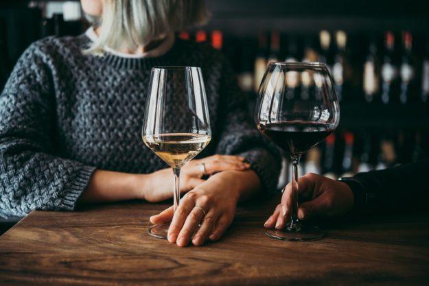 Weinseminar Hamburg - Rotwein und Weißwein