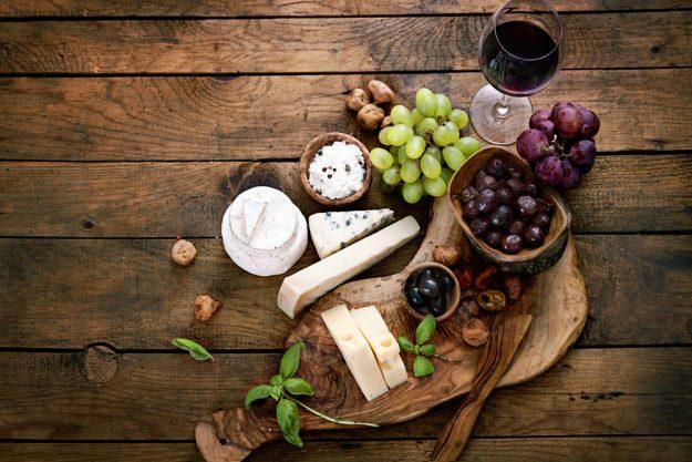Weinseminar Hamburg - Wein und Käse