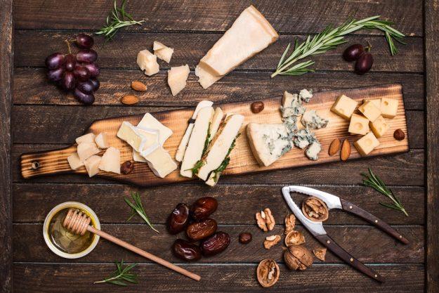 Weinseminar Hamburg - Wein und Käse passen perfekt