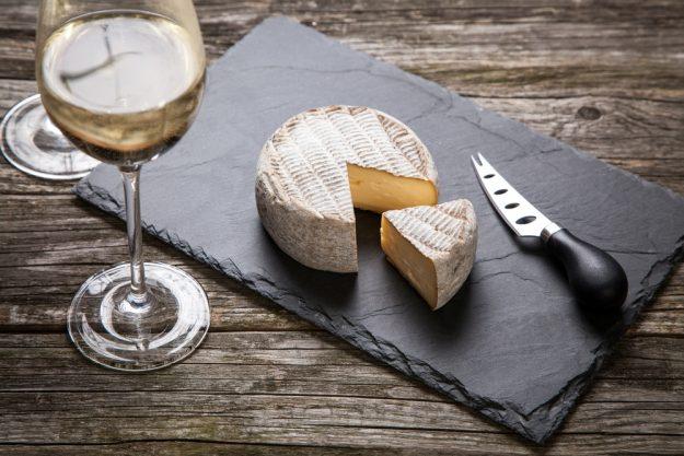 Weinseminar Hamburg - Weisswein und Camembert