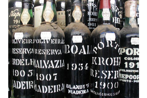 Weinseminar Mannheim - Portwein Flaschen