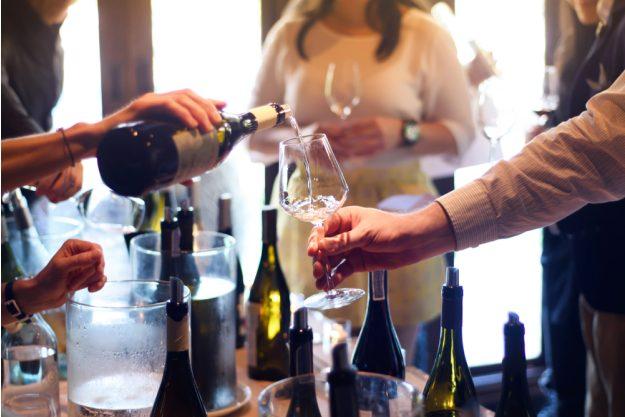 Weinseminar München – Wein einschenken