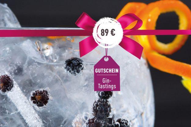 Gutschein Gin-Tasting – Veschiedene Gin-Variationen