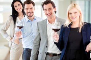 Teambuilding Hamburg mit Weinseminar Vino e Gusto
