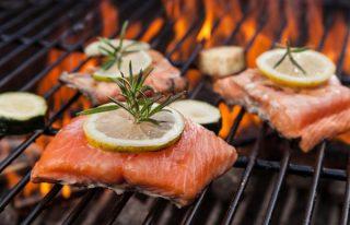 Fisch-Grillkurs Senden Fisch vom Grill
