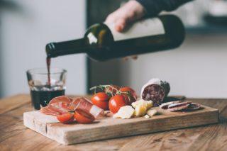 Weinprobe in Münster Wein und Tapas