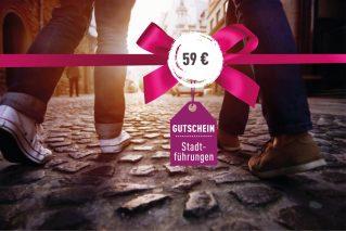 Gutschein für eine kulinarische Stadtführung Gutschein kulinarische Stadtführung 59€