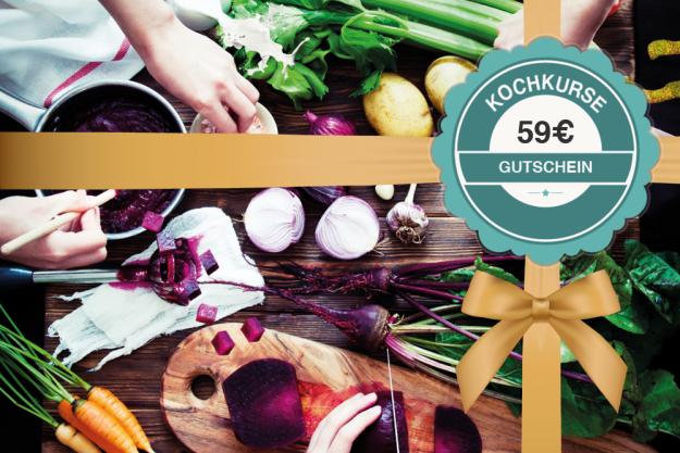 Geschenk-Gutschein-Kochkurs – 59 Euro