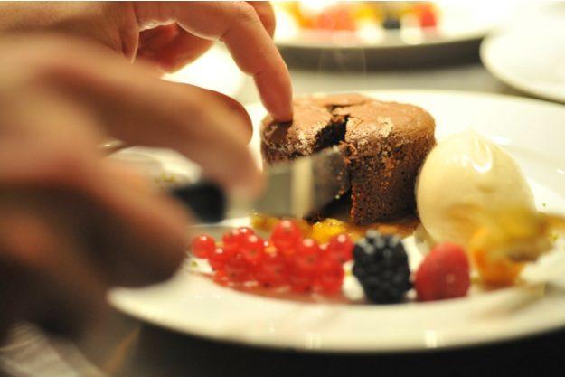 Firmenfeier Bonn - Schoko Dessert