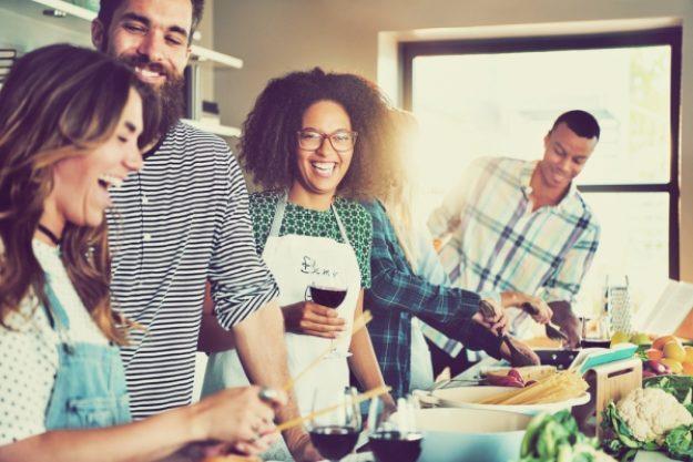 Kochkurs-Gutschein –Spaß beim Kochen