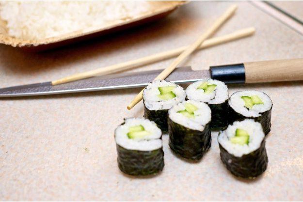 Sushi-Kurs-Bonn – fertiges Sushi