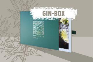 Gin-Tasting-Gutschein  Miomente GIN-Box