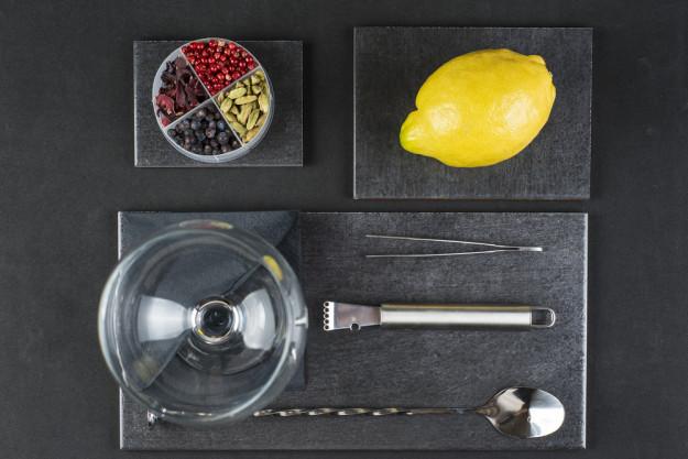 Gin-Tasting Düsseldorf – Bartender und Gin