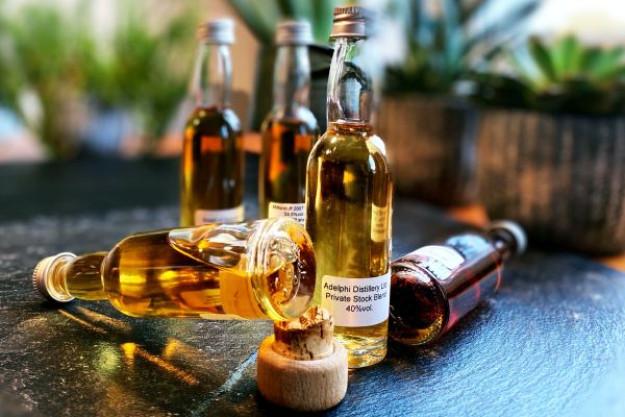 Whisky-Tasting für Zuhause - Proben