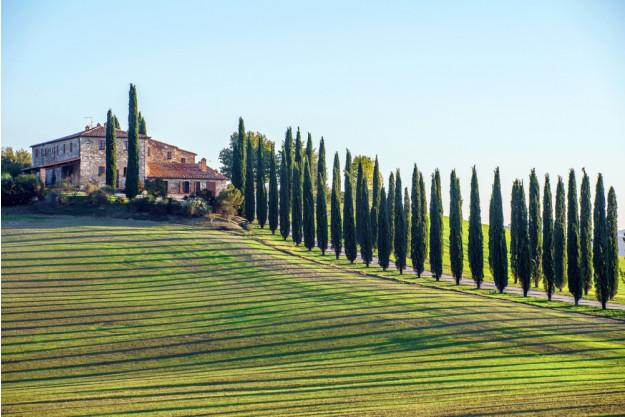 virtuelle Reise in die Toskana, Panorama